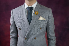 Γκρίζα σύσταση καρό κοστουμιών, σταυρωτή Στοκ εικόνες με δικαίωμα ελεύθερης χρήσης