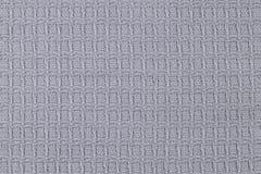 Γκρίζα σύσταση πετσετών Κινηματογράφηση σε πρώτο πλάνο ενός σφουγγαριού πετσετών στοκ φωτογραφία με δικαίωμα ελεύθερης χρήσης