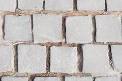 Γκρίζα σύσταση συγκεκριμένων πεζοδρομίων τοπ άποψης ανασκόπηση αρχιτεκτονικής αστική Στοκ φωτογραφία με δικαίωμα ελεύθερης χρήσης