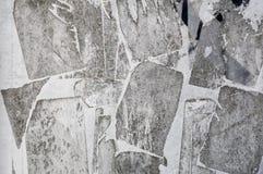 Γκρίζα σύσταση τοίχων εγγράφου Grunge Στοκ Φωτογραφία