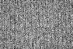 γκρίζα σύσταση του Τζέρσεϋ Στοκ φωτογραφίες με δικαίωμα ελεύθερης χρήσης