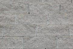 γκρίζα τούβλα πετρών οικοδομικού υλικού Στοκ Εικόνες