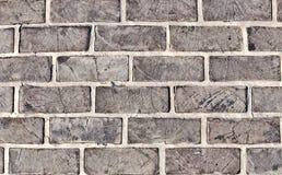 Γκρίζα τούβλα Στοκ φωτογραφία με δικαίωμα ελεύθερης χρήσης