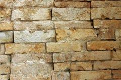 Γκρίζα τούβλα στον τοίχο παλαιό παράθυρο σύστασης λεπτομέρειας ανασκόπησης ξύλινο Στοκ Φωτογραφίες