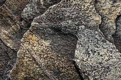 Γκρίζα τραχιά σύσταση υποβάθρου πετρών στοκ εικόνες
