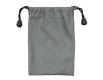 Γκρίζα τσάντα υφάσματος Στοκ εικόνα με δικαίωμα ελεύθερης χρήσης