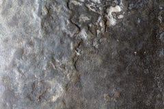 Γκρίζα φωτογραφία σύστασης πετρών φυσική πέτρα ανασκόπησης Ξεπερασμένη ανακούφιση βράχου Ανώμαλη επιφάνεια ψαμμίτη Στοκ Εικόνες