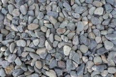 Γκρίζα χαλίκια στο έδαφος Στοκ Εικόνα