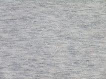 Γκρίζα knitwear σύσταση υφάσματος Στοκ φωτογραφία με δικαίωμα ελεύθερης χρήσης