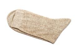 γκρίζες κάλτσες ζευγαριού Στοκ Φωτογραφία