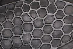 Γκρίζες κυψέλες μελισσών πελμάτων παπουτσιών Στοκ Εικόνες