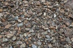 Γκρίζες μικρές πέτρες στοκ φωτογραφία