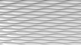 Γκρίζες πλαστικές κυματιστές γραμμές Υπόβαθρο κινήσεων Loopable απεικόνιση αποθεμάτων