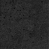Γκρίζοι κύκλοι φυσαλίδων στα μαύρα σημεία υποβάθρου Στοκ Εικόνες
