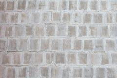 γκρίζος κατασκευασμένος τοίχος τούβλου ανασκόπησης Στοκ εικόνες με δικαίωμα ελεύθερης χρήσης