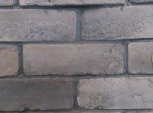 γκρίζος κατασκευασμένος τοίχος τούβλου ανασκόπησης Στοκ φωτογραφία με δικαίωμα ελεύθερης χρήσης