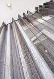 γκρίζος μεταλλικός κο&upsil Στοκ Φωτογραφίες