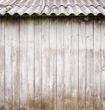 Γκρίζος ξύλινος τοίχος σανίδων Στοκ φωτογραφίες με δικαίωμα ελεύθερης χρήσης
