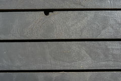 Γκρίζος ξύλινος τοίχος σανίδων Στοκ φωτογραφία με δικαίωμα ελεύθερης χρήσης