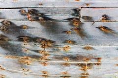 Γκρίζος ο ξύλινος Στοκ φωτογραφία με δικαίωμα ελεύθερης χρήσης