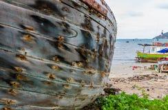 Γκρίζος ο ξύλινος Στοκ εικόνα με δικαίωμα ελεύθερης χρήσης