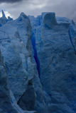 Γκρίζος παγετώνας, Torres del Paine, Παταγωνία, Χιλή Στοκ Εικόνες
