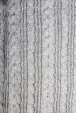 Γκρίζος πλέξτε τη σύσταση Στοκ εικόνα με δικαίωμα ελεύθερης χρήσης