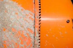 Γκρίζος ρύπος σε έναν αναμίκτη Στοκ Εικόνα