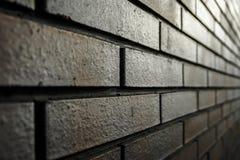 Γκρίζος τοίχος κεραμιδιών τούβλου Στοκ φωτογραφία με δικαίωμα ελεύθερης χρήσης