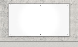 Γκρίζος τοίχος με το υπόβαθρο copyspace Στοκ Εικόνα