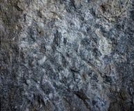 Γκρίζος τοίχος μπλε βράχου Στοκ φωτογραφίες με δικαίωμα ελεύθερης χρήσης