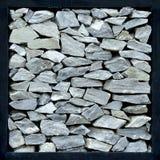 γκρίζος τοίχος πετρών Στοκ Φωτογραφία