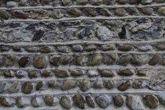 γκρίζος τοίχος πετρών Στοκ εικόνες με δικαίωμα ελεύθερης χρήσης