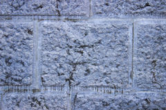 Γκρίζος τοίχος πετρών Στοκ Εικόνες