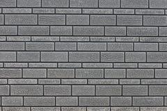 γκρίζος τοίχος τούβλου στοκ φωτογραφία με δικαίωμα ελεύθερης χρήσης