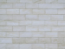 Γκρίζος τοίχος φιαγμένος από μεγάλους φραγμούς τσιμέντου Στοκ Φωτογραφία