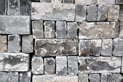 γκρίζος τούβλων χρησιμοπ Στοκ φωτογραφία με δικαίωμα ελεύθερης χρήσης