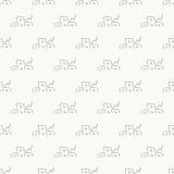 Γκρίζο απλό άνευ ραφής αφηρημένο σχέδιο σπιτιών Στοκ Εικόνες