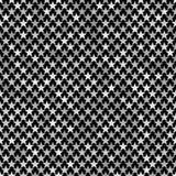 Γκρίζο αφηρημένο υπόβαθρο σχεδίων αστεριών pentagram Στοκ Φωτογραφίες