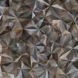 Γκρίζο αφηρημένο υπόβαθρο τριγώνων Στοκ φωτογραφία με δικαίωμα ελεύθερης χρήσης