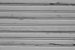 Γκρίζο βρώμικο ξύλινο σχέδιο τοίχων Στοκ Φωτογραφίες