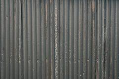 Γκρίζο ζαρωμένο υπόβαθρο μετάλλων Στοκ φωτογραφία με δικαίωμα ελεύθερης χρήσης