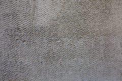 Γκρίζο διακοσμητικό ασβεστοκονίαμα Στοκ φωτογραφία με δικαίωμα ελεύθερης χρήσης