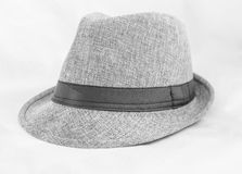 Γκρίζο καπέλο Στοκ Φωτογραφίες