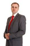 γκρίζο κοστούμι ατόμων στοκ εικόνες με δικαίωμα ελεύθερης χρήσης