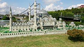 Γκρίζο μουσουλμανικό τέμενος στη Ιστανμπούλ Στοκ Εικόνες