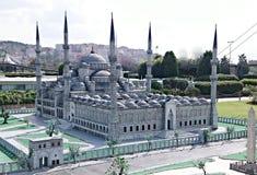 Γκρίζο μουσουλμανικό τέμενος Στοκ φωτογραφίες με δικαίωμα ελεύθερης χρήσης
