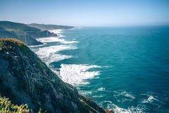 Γκρίζο πάρκο παραλιών όρμων φαλαινών και φωτογραφικών διαφανειών διαβόλων σε Καλιφόρνια Στοκ φωτογραφίες με δικαίωμα ελεύθερης χρήσης