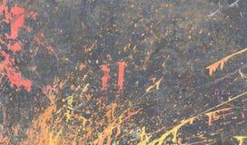 Γκρίζο, πολύχρωμο χρώμα τοίχων υποβάθρου, παφλασμοί στοκ φωτογραφία με δικαίωμα ελεύθερης χρήσης
