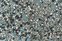 γκρίζο πρότυπο γρανίτη που στρώνει τις κόκκινες πέτρες πετρών Στοκ εικόνα με δικαίωμα ελεύθερης χρήσης